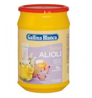 SALSA G.BLANCA ALIOLI 450 GR