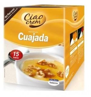 CUAJADA G.BLANCA 607.5 GR 15 UN*40,5 GR