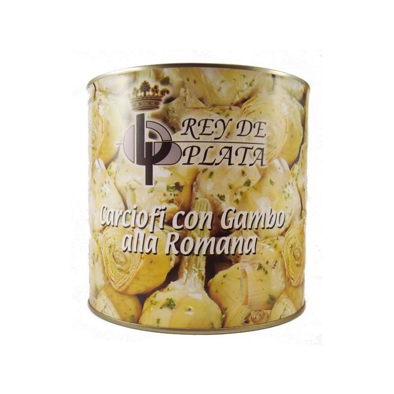ALCACHOFAS REY PLATA ROMANA LT. 2.5 KG