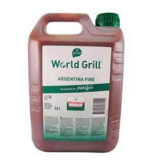 WORLD GRILL VERSTEGEN ARGENT.FIREGF.2.5L