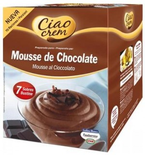 MOUSSE CIAO GB.CHOCOLATE 8 SOB. 768G