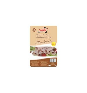 CHOPPED MONELLS PAVO LONCHAS 180GR