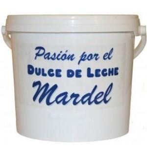 DULCE DE LECHE MARDEL CUBO 7 KG