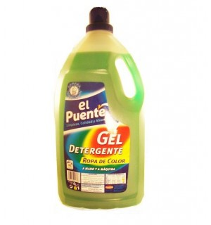 DETERGENTE PUENTE GEL COLOR 4 L