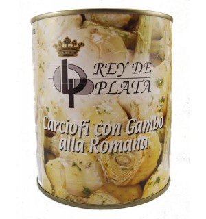 ALCACHOFAS REY PLATA ROMANA LT. 780 GR