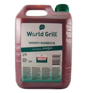 WORLD GRILL VERSTEGEN SMOKEY BBQ.GF.2.5L