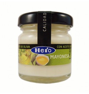 MAYONESA HERO TARRO 48 UN 32 GR