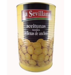 ACEITUNAS SEVILLANA R/ANCHOAS 4.4 KG