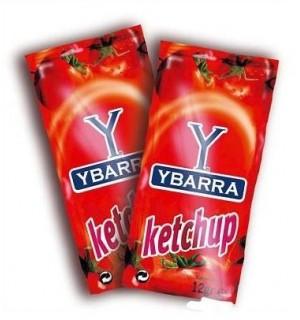KETCHUP YBARRA PORCIONES 12 GR 250 UN