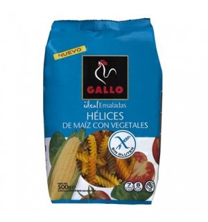 HELICES GALLO C/VEGET. S/GLUTEN 500 GR