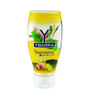 MAYONESA YBARRA BOCABAJO PET. 400 ML
