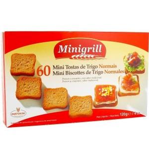 BISCOTTE MINIGRILL NORMAL 60 UN 120 GR