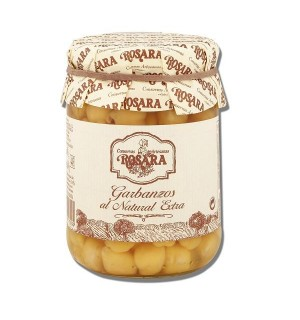 GARBANZO ROSARA NATURAL EXTRA BT. 390 GR