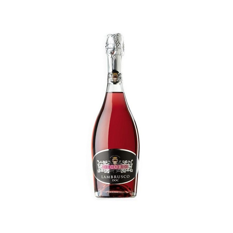 LAMBRUSCO DECORDI DOC ROSADO 3/4 L