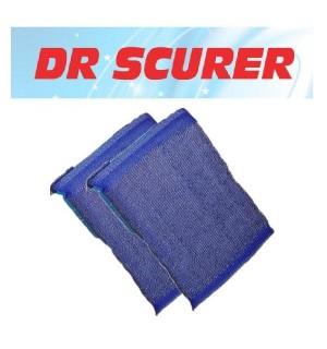 ESTROPAJO DR.SCURER INOX C/ESPONJA 2 UN