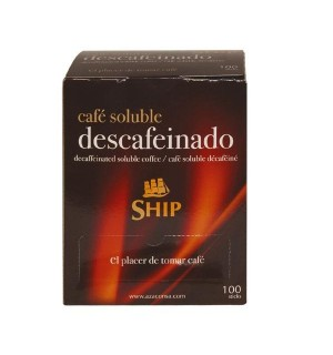CAFE SHIP DESCAF. STICKS SOLUB.100 UN