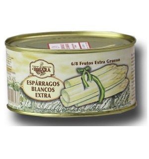 ESPARRAG. ROSARA BLC.6/8 DO LT.OVAL 250G