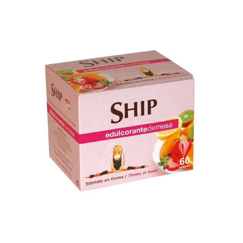 EDULCORANTE SHIP DULK SOBRES 1 GR 60 UN