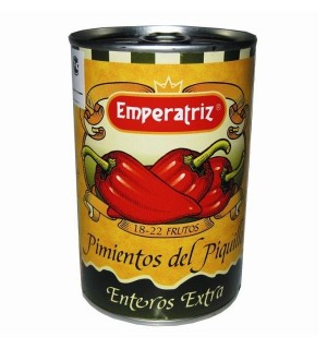 PIMIENTOS PIQ. EMPERATRIZ ENT. LT.390 GR