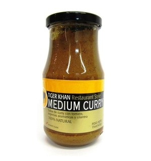 SALSA TIGER KHAN MEDIUM CURRY 425 GR