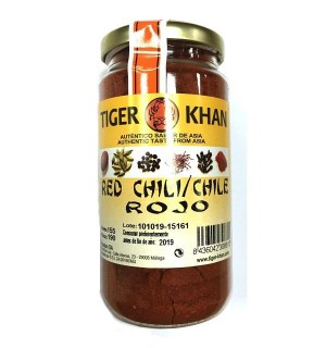 CHILE ROJO TIGER KHAN POLVO 190 GR