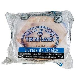 TORTAS A.GAVIÑO ACEITE 6 UN. 180 GR