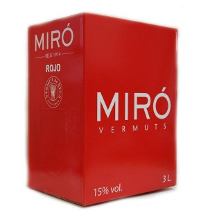VERMUT MIRO ROJO BAG-BOX 3 L