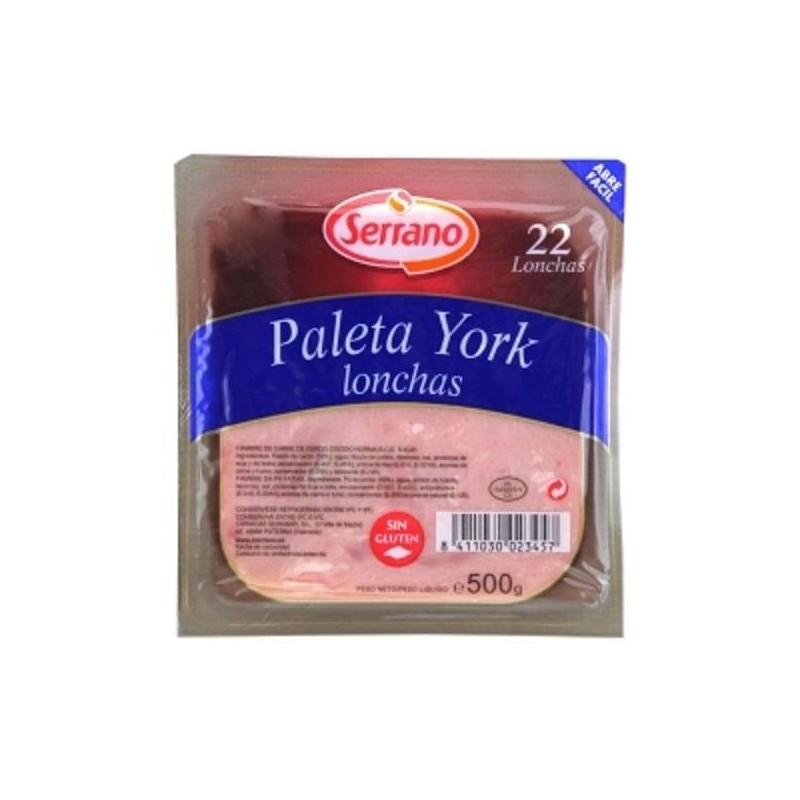 FIAMB. PALETA YORK SERRANO LONCHAS 500GR