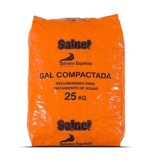 SAL SALINERA PASTILLAS DESCALCIFIC.25 KG