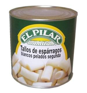 ESPARRAG. PILAR BLANCOS TALLOS LT. 3 KG