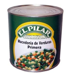 MACEDONIA VERDURAS PILAR LT. 2.5 KG