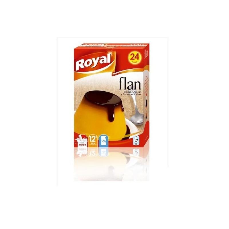 FLAN ROYAL 24 RAC.  558 GR