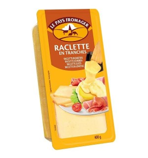 QUESO RACLETTE PAYS FROMAG. LONCH. 400GR