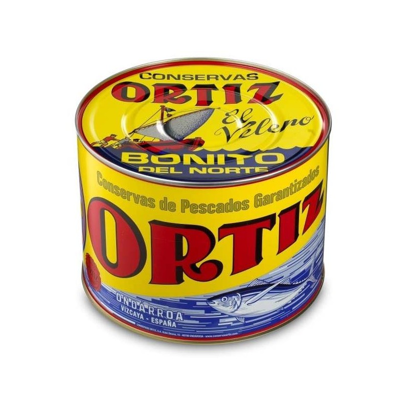 BONITO ORTIZ NORTE AC. OLIVA BT. 2.9 KG