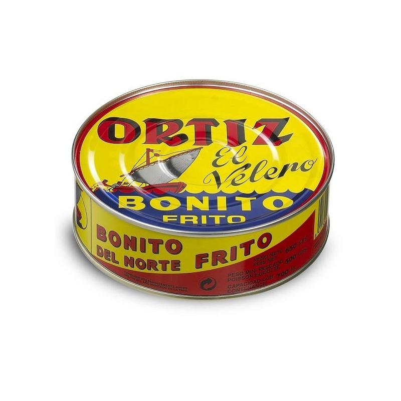 BONITO ORTIZ NORTE FRITO ESC. LT. 650 GR