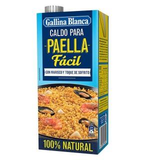 CALDO G.BLANCA PAELLA LIQUIDO BRIK 1 L