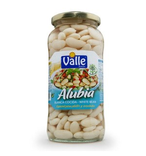 ALUBIA VALLE BLANCA COCIDA BT. 560 GR