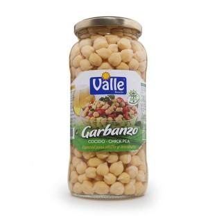 GARBANZO VALLE COCIDO BT. 560 GR