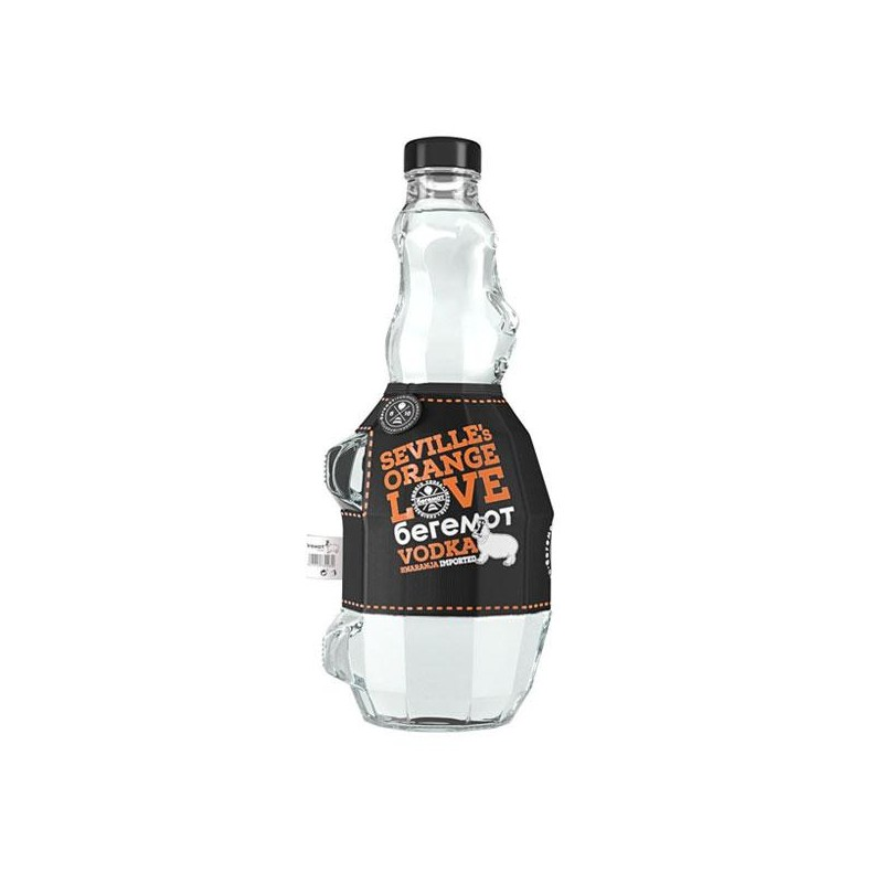 VODKA BEREMOT ORANGE LOVE 70 CL