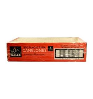 CANELONES GALLO 500 UN 4 KG