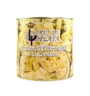 ALCACHOFAS REY PLATA ROMANA TROZOS 2.5 K