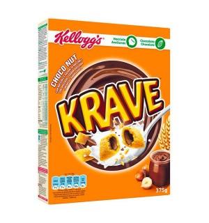KELLOGG'S KRAVE C/AVELLANA 375 GR