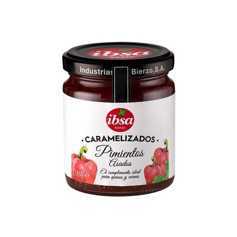 PIMIENTOS IBSA CARAMELIZADO BT.250 GR