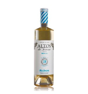 VINO ALTOS TORONA BLANCO ROSAL 75 CL