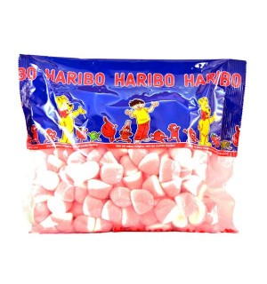 GOMINOLAS HARIBO BESITOS NATA-FRESA 1 KG