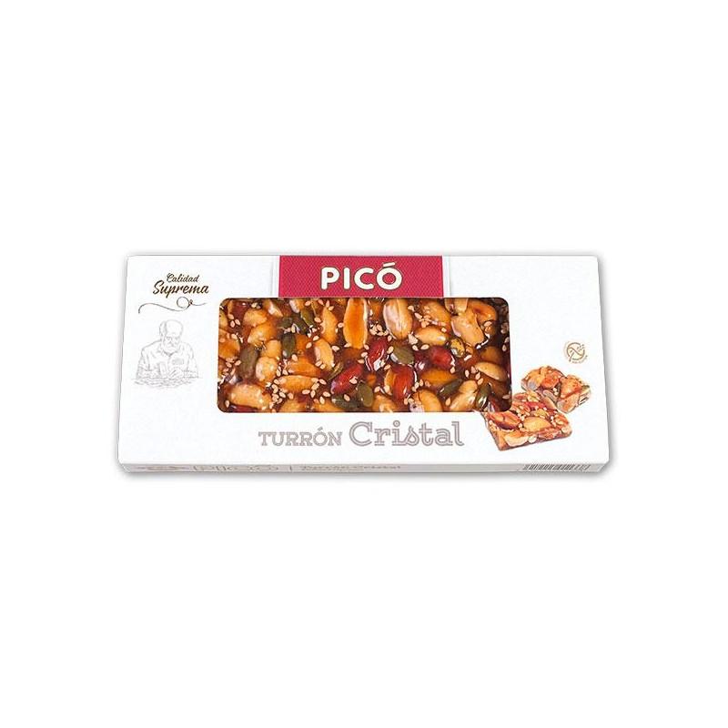 TURRON PICO CRISTAL C/SEMILL.SUPR.150 GR