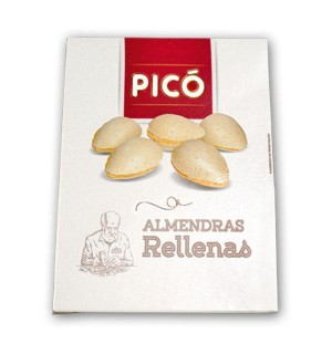 ALMENDRAS PICO RELLENAS 150 GR