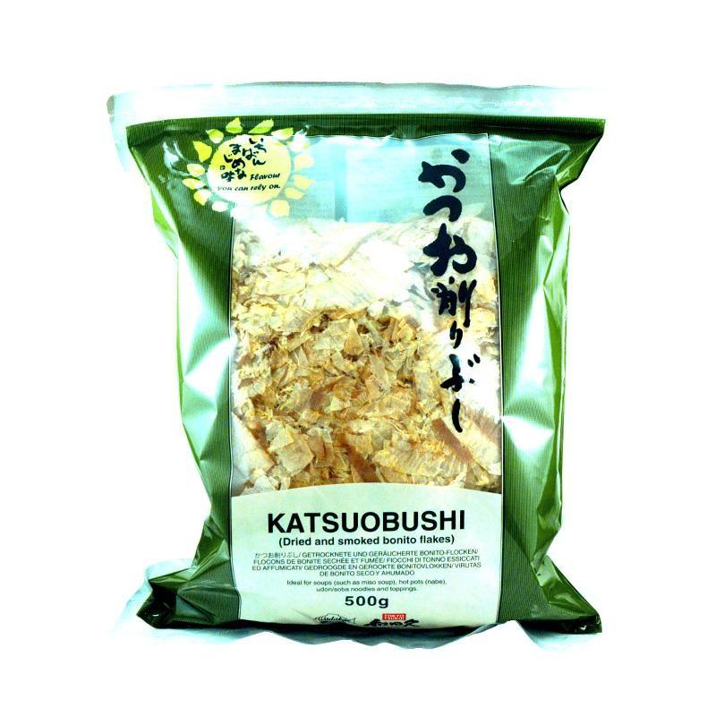 BONITO KATSUOBUSHI SECO LAMIN.AHUM.500GR
