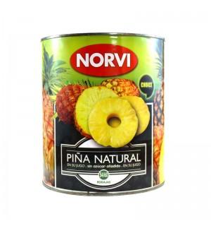 PIÑA NORVI RODAJAS JUGO 3 KG