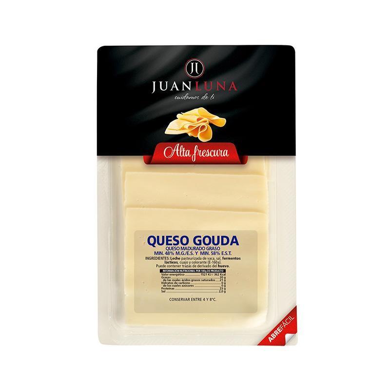 QUESO J.LUNA GOUDA LONCHAS 75 GR